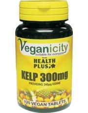 Veganicity Kelp 300 mg 120 Tablette x 2