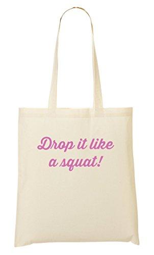 Squat Provisions Drop Fourre Like It Tout À Sac A Sac Motivational 1tw6PqAt