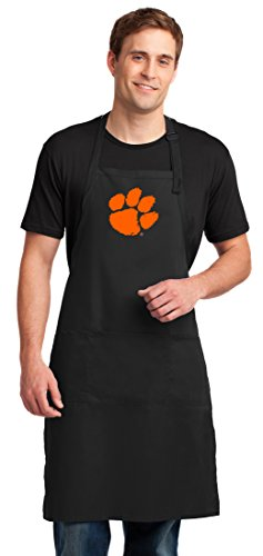 Broad Bay Clemson Apron Large Size Clemson Tigers Gift for Men or Women Man Him Her