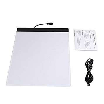 Lichtsteuerungen K02 A4 Paper Size Copying Board Ultra Thin Led Luminous Portable Painting Pad Ql