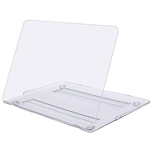 MOSISO MacBook Air 13 Case (Models: A1369 & A1466, Older Version 2010-2017 Release), Plastic Hard Shell Case Cover Only Compatible MacBook Air 13 Inch, Crystal Clear