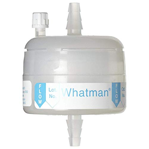 (Whatman 6703-3610 Polycap HD 36 Polypropylene Capsule Filter with SB Inlet and Outlet, 60 psi Maximum Pressure, 1.0 Micron)