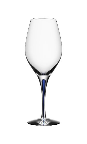 Orrefors Intermezzo Blue 14.1 Ounce Wine Glass