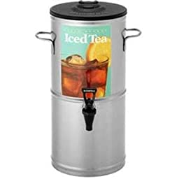 Bloomfield 8799-3G Iced Tea Dispenser with Handles, 3-Gallon, Stainless Steel, 9\