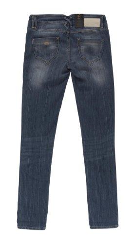 BLEND - She SKY 6167-695 Stretch Röhren-Jeans blue-used: Weite: W29 | Länge: L32