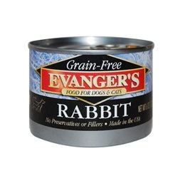 Evanger's Grain Free Rabbit - 24x6 oz