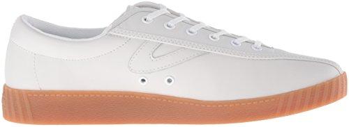 Tretorn Womens Nylite2 Plus Fashion Sneaker Bianco / Bianco / Bianco / Miele