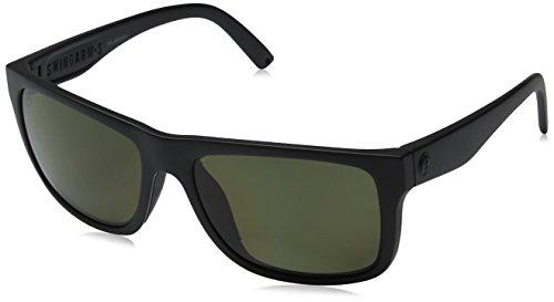 Electric Visual Swingarm S Matte Black Polarized - Round Sunglasses Trend 2017