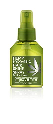 GIOVANNI-Hemp-Hydrating-Hair-Shine-Spray-43-oz-Anti-Frizz-Hair-Gloss-Hemp-Seed-Oil-Aloe-Vera-Frankincense-Helps-Moisturize-and-Revitalize-Damaged-Hair-No-Parabens-Color-Safe-Pack-of-1
