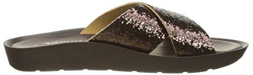 Tamaris 27108, Women's Mules Brown - Braun (Mocca Glam 399)