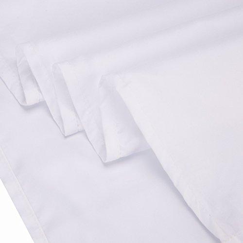 Alicemall 3D Horse Bedding Comforter Set White Snow Horse Digital Printing 5 Pieces Comforter Set Digital Bedding Set, Queen Size (2 Pillowcases, Flat Sheet, Comforter, Duvet Cover) (Queen, White) by Alicemall (Image #9)