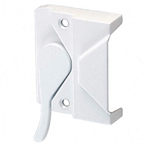 CRL Right Hand White Casement Window Lock; 2-3/8