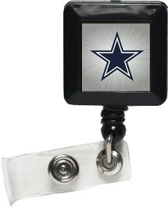 WinCraft NFL Dallas Cowboys 14138021 Retractable Badge Holder by WinCraft
