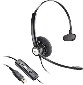 New Plantronics Blackwire C610 M Moc Noise Canceling Microphone Hi Fi Stereo Sound Volume Adjustment
