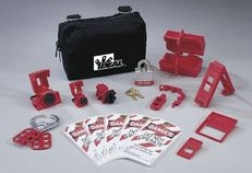 Basic Lockout / Tagout Kit by Ideal