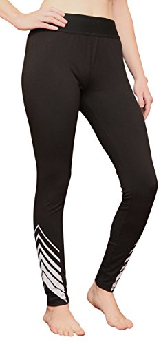 (Danskin Now Women's Active Graphic Ankle Legging-Black-2XL)