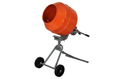 Yardmax YM0146 5.0 cu. ft. Concrete Mixer 3/4 HP (Patio For Mix Slabs Concrete)