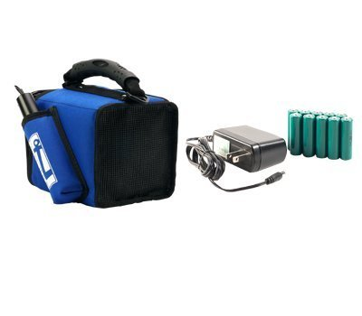 Anchor Audio Lite-BP MiniVox Lite Basic Package, Includes AN-MINI Speaker Monitor, MIC-50 Wired Handheld Microphone and RC-30 Battery Recharge Kit