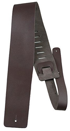 Perris Leathers B35-2189 Plain Leather Guitar Strap, 3.5