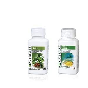 Amway Nutrilite Health Kit Omega and Daily Tablets – 500 g