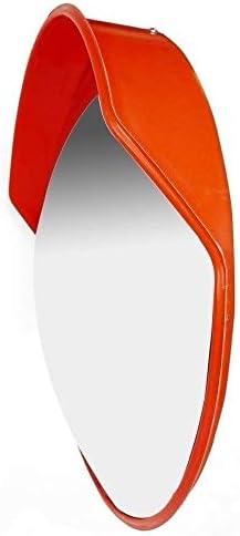 カーブミラー 屋外駐車場のための凸安全ミラーPC飛散防止耐久性のある日焼け止めは、道路ブラインドスポットの範囲を絞ります RGJ4-11 (Size : 1000mm)