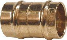 - Watts Brass & Tubular #EZC12S 1/2x1/2COP Coupling