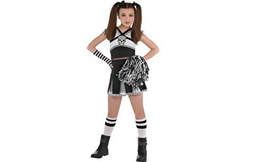 Amscan Cheerleader Costume | Rah Rah Rebel | Children Medium (8-10)