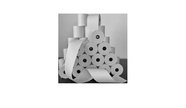 Rollos de papel, aparador, Wayne, Gilbarco, 12 rollos en caja: Amazon.es: Oficina y papelería