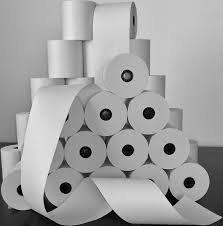 inklots térmica 2 5/16 en. X 400 ft. Rollos de papel,