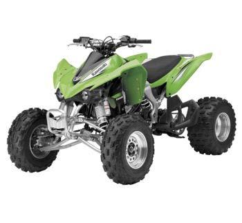 12 Scale Atv - New Ray Toys 1:12 Scale ATV Die-Cast Replica Kawasaki KFX450R Green 57503