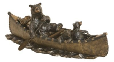 Canoe Trip, Jeff Fleming Bearfoots Bear (Big Sky Bear)
