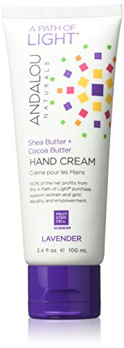 (Andalou Naturals Lavender Hand Cream, 3.4 Ounce)