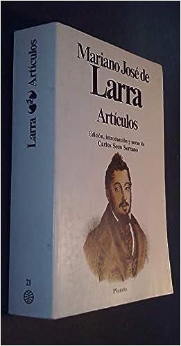 Articulos Amazon De Larra Mariano Jose De Fremdsprachige Bücher
