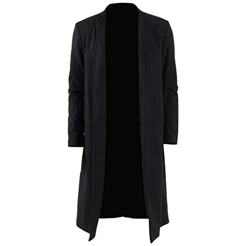 Wool And Satin Coat - 6