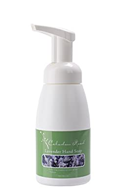 Celadon Road Lavender Foaming Hand Soap - Organic Ingredients and Essential Oils - Sulfate and Paraben Free - Best All Natural Soap - 7oz