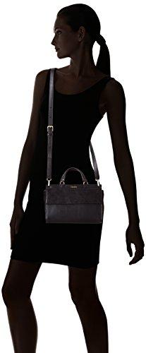 Flap Shari Snake Asa black 001 Klein De Small Superior Bolsa Satchel Schwarz Calvin Negro Mujer 001 15Ipqq
