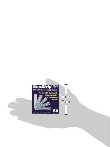 100 GenStrip50 Test Strips for Use with OneTouch Ultra Meters   2 Pack