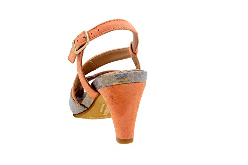 ancho sandalia 6256 fiesta piel de cómodo mujer zapato confort Tulipan Piesanto Calzado xnZCaWv