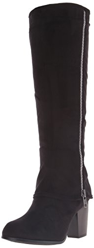 Lips Women's Louie 2 Black Motorcycle Too Micro Too Boot gaSd1