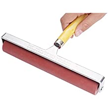 MEEDEN Hard Rubber Brayer Roller 8-Inch for Printmaking Craft Projects