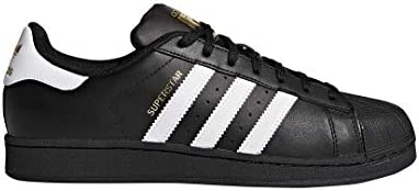 ed3c8b65 adidas Unisex Adults Superstar Foundation Sneakers, Black (Core Black/Footwear  White/Core Black), 7 UK (40.7 EU)