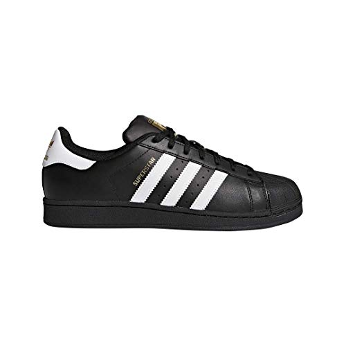 (adidas Originals Men's Superstar Foundation Casual Sneaker, Black/White/Black, 13 D(M) US)