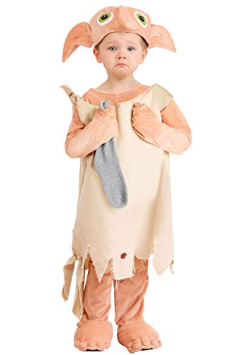 Dobby Feet Costumes - Princess Paradise Deluxe Dobby Toddler Costume