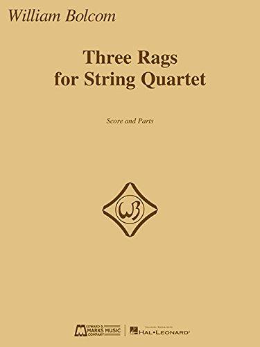 Three Rags for String Quartet: Score and Parts (String Quartet Parts)