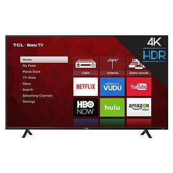 TCL 55 Class 55S403  4K Ultra HD Roku LED LCD TV