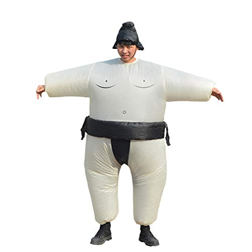 Sumo Wrestlers Costume (Special Costume for Performance of Funny Sumo Inflatable Suit Wrestler Wrestling Suits Blow Up Suit for Adult)