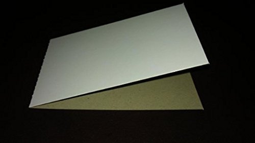 EMPTY Cardboard Sleeves for Stickers and Tattoos (100 count) ()