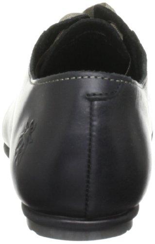 FLY London - Zapatos de cordones de cuero para mujer Negro