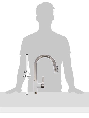 Blanco 442068 Sonoma 2.2 Bar Sink Faucet, White/Stainless Dual Finish by Blanco (Image #3)