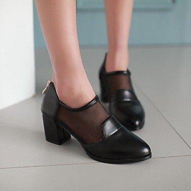 Femmes 039s Sandales Comfort Pu Printemps Confort Informel Blanc Noir Flatblackus2.5 Ue32 Uk1 Cn31